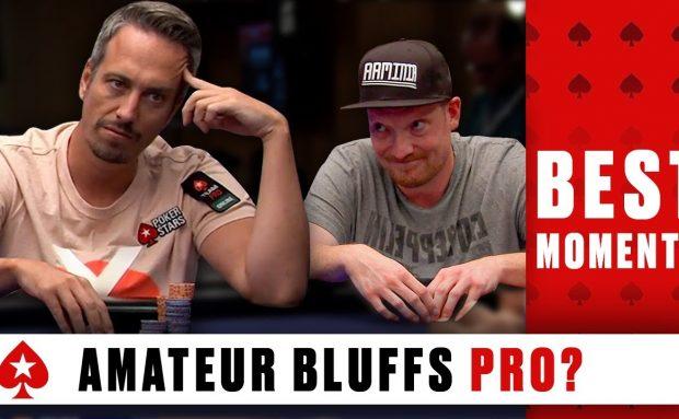 Can an Amateur Bluff a Pro Poker Player