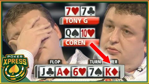 Top 5 Most Brutal Poker River Cards Ever Televised