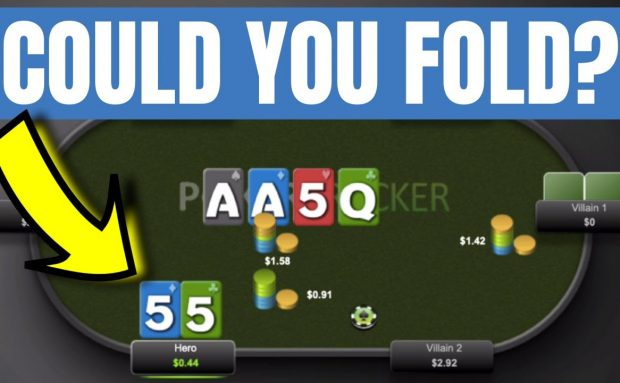 99% of Poker Players Can Fold This Hand