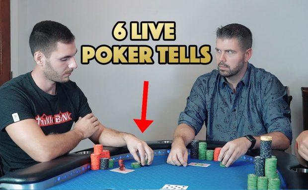 6 Live Poker Tells Recommendations