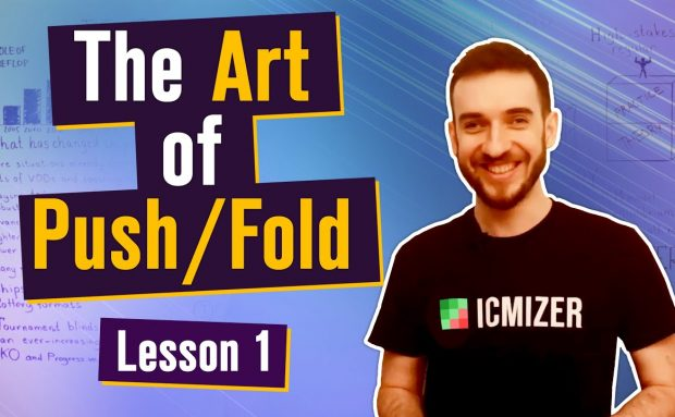 The Art Of Push/Fold – Push/Fold as the Basis of Your Tournament Poker Strategy