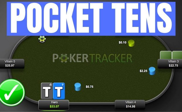 How to Play Your Pocket Tens Versus an Unknown