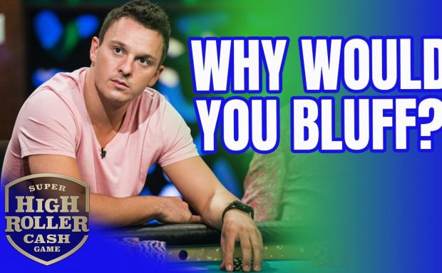 Can Sam Trickett Get Away with This Bluff