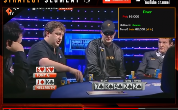 Phil Hellmuth vs Tony G – The Showdown