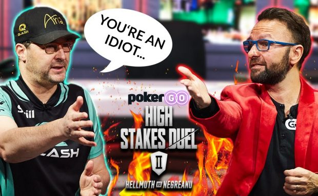 Phil Hellmuth Calls Daniel Negreanu and Idiot for This…