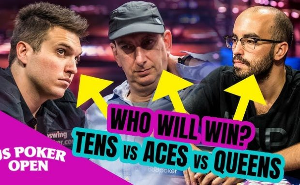 Poker Legends All-in Clash: AA vs QQ vs TT!