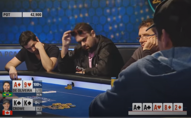 When Poker Players Get the Nuts