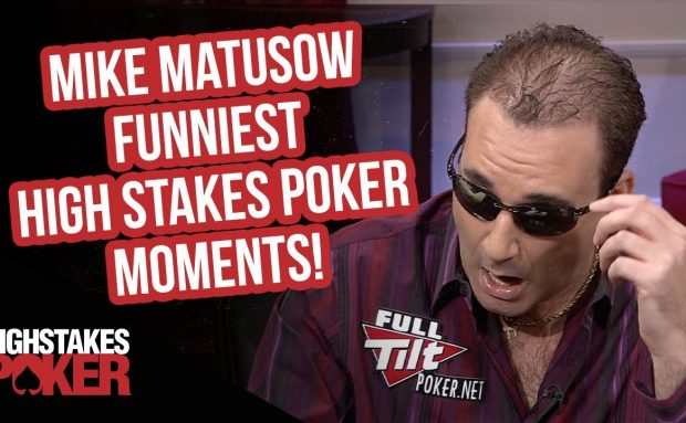 Mike Matusow Funniest High Stakes Poker Moments