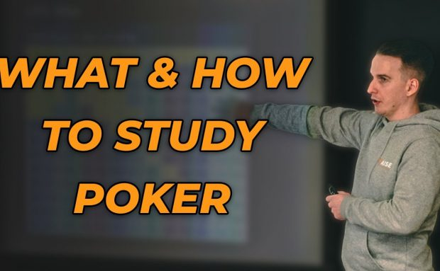 What and How You Should Study Poker