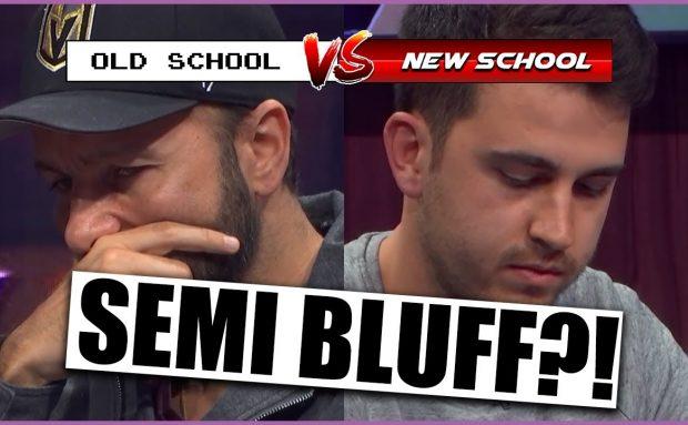 The Semi Bluff – Old School VS New School Poker Analysis
