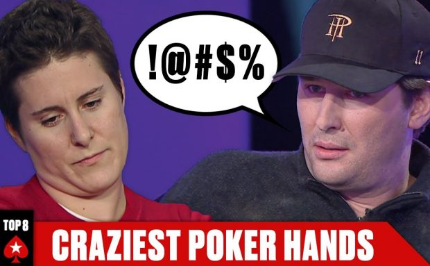 Top 8 Craziest Hands From The Big Game